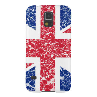 Union Jack Distressed Galaxy S5 Covers