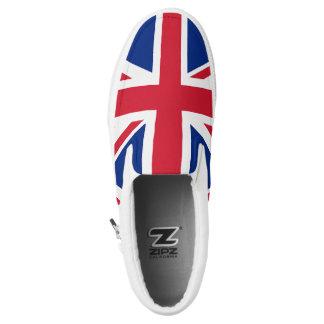 Union Jack England British Flag Slip On Sneakers