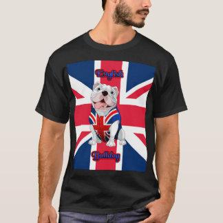 Union Jack English Bulldog T-Shirt