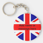 Union Jack  English flag British flag UK pom Key Chains
