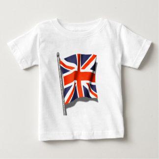Union Jack Flag Baby T-Shirt