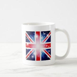 Union Jack flag background Mugs