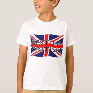 Union Jack Flag - Best of British T-Shirt