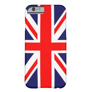 Union Jack flag Barely There iPhone 6 Case