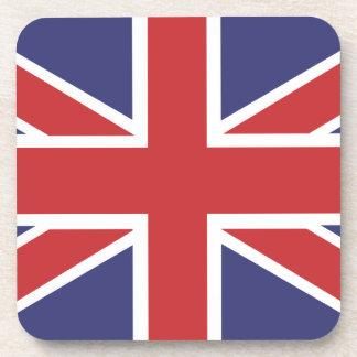 Union Jack Flag Coaster set of 6