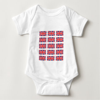 Union Jack Flag Creeper/Babygro Baby Bodysuit