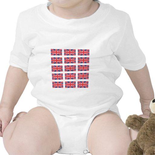 Union Jack Flag Creeper/Babygro