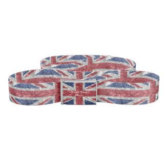 Union Jack Flag - Crinkled Belt