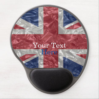 Union Jack Flag - Crinkled Gel Mouse Pad