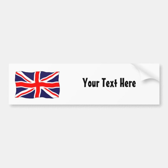 Union Jack Flag - Customisable With Your Text!