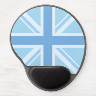 Union Jack/Flag Design Blues Gel Mouse Pad