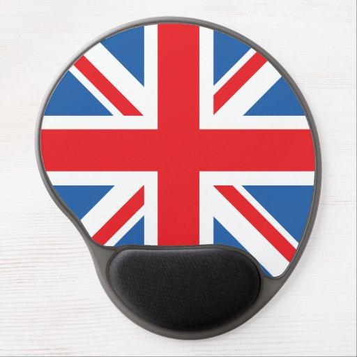 Union Jack/Flag Design Gel Mousepad