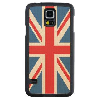 Union Jack/Flag Design Maple Galaxy S5 Slim Case