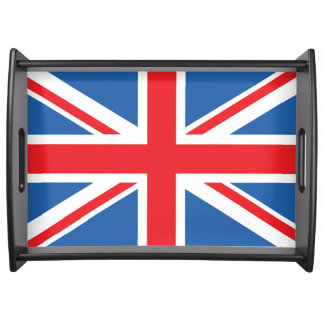 Union Jack/Flag Design Serving Tray