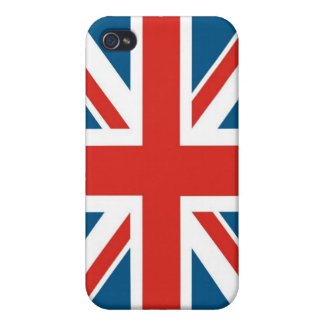Union Jack Flag, G4 iPhone 4 Covers