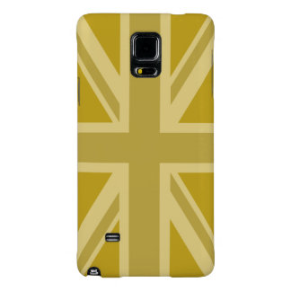 Union Jack/Flag Golds Galaxy Note 4 Case