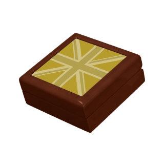 Union Jack/Flag Golds Gift Box