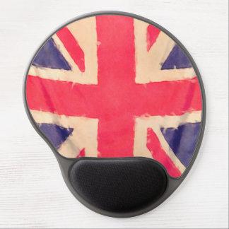 UNION JACK FLAG grunge Gel Mouse Mats