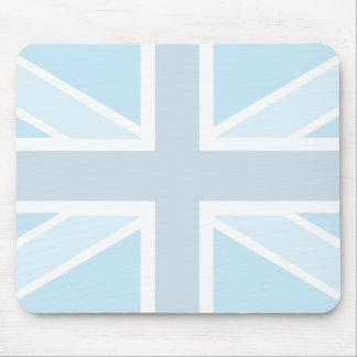 Union Jack Flag in Blue Mousepad