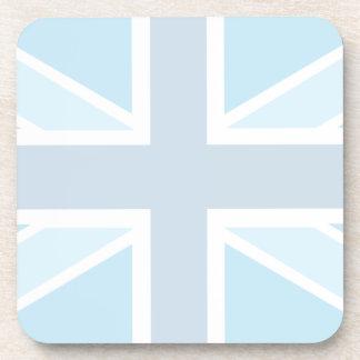 Union Jack Flag in Blue Set of 6 Coasters