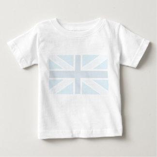 Union Jack Flag in Blue Tee Shirt Infant