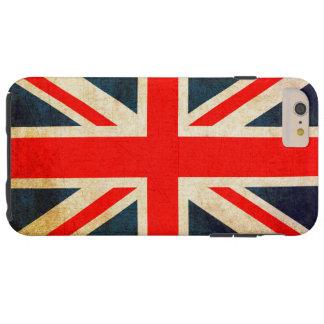 Union Jack Flag in Grunge Tough iPhone 6 Plus Case