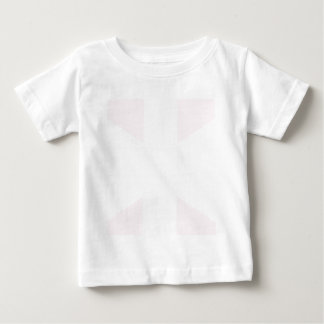 Union Jack Flag in Pink Infant Tee Shirt