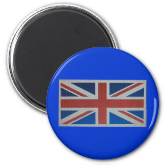 Union Jack Flag Refrigerator Magnet