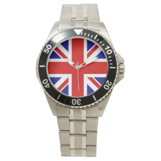Union Jack Flag Men's Watch