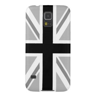 Union Jack/Flag Monochrome Galaxy S5 Cover