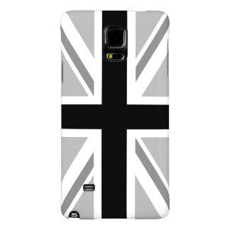 Union Jack/Flag Monochrome Galaxy Note 4 Case