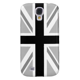 Union Jack/Flag Monochrome Galaxy S4 Case