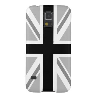 Union Jack/Flag Monochrome Galaxy S5 Cover