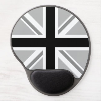 Union Jack/Flag Monochrome Gel Mouse Mat