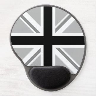 Union Jack/Flag Monochrome Gel Mouse Mat