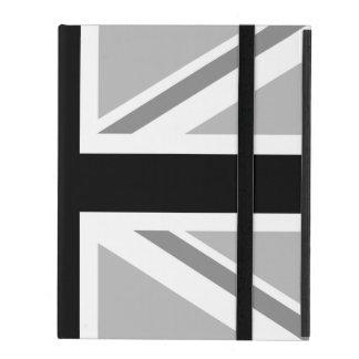 Union Jack/Flag Monochrome iPad Cover