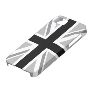Union Jack/Flag Monochrome iPhone 5 Cases