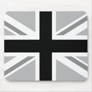 Union Jack/Flag Monochrome Mouse Mat