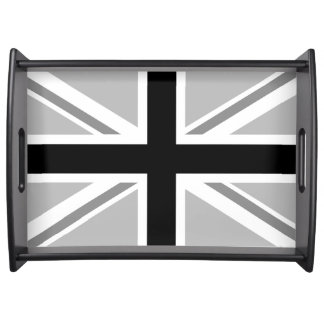 Union Jack/Flag Monochrome Serving Tray