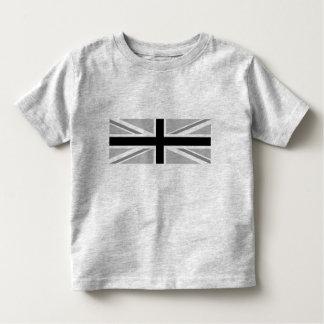 Union Jack/Flag Monochrome Toddler T-Shirt