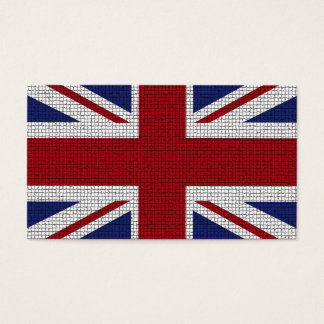 Union Jack Flag Mosaic Effect United Kingdom