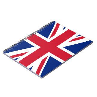 Union Jack Flag Notebook