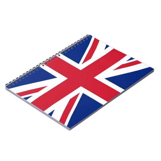 Union Jack Flag Notebook