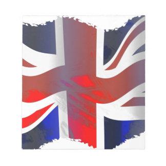 Union Jack flag Notepad