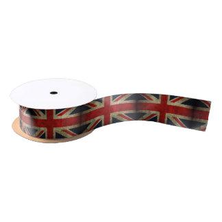 Union Jack Flag of England Gift Decoration Satin Ribbon