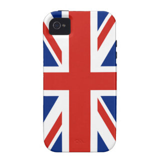 Union Jack - Flag of Great Britain iPhone 4 Covers