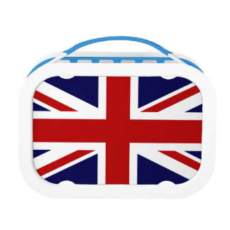 Union Jack Flag of Great Britain Lunch Box