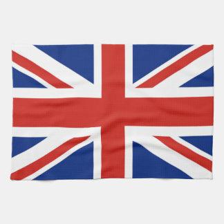 Union Jack - Flag of Great Britain Tea Towel