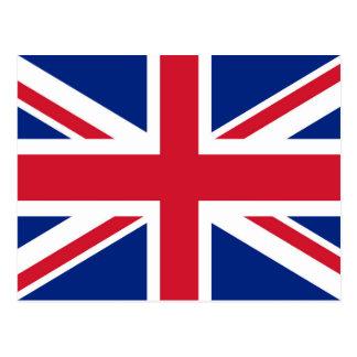 Union Jack flag of the UK - Authentic version Postcard