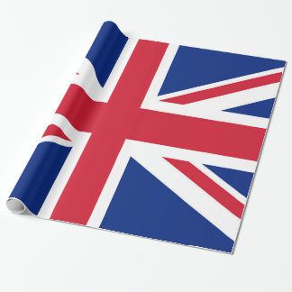 Union Jack flag of the UK - Authentic version Wrapping Paper